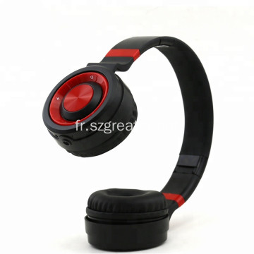 Brillant casque portable sans fil casque Bluetooth