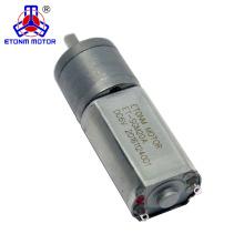 Motor da engrenagem da CC do dente reto da escova do metal do torque do grande alcance de ET-SGM20-A 9V