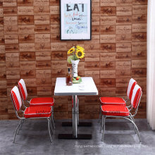 Hot Sales 1950s American Style Leather Restaurant Dining Chair (SP-CT834)