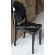 black PC wedding ghost chair XA1091