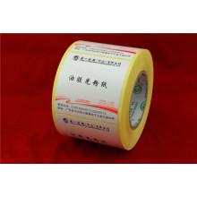 Étiquette en PVC autoadhésive non imprimée