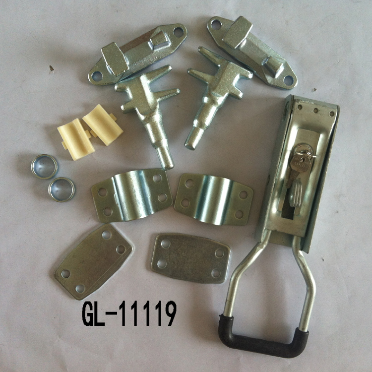 Truck Door Recessed Box Lock GL-11119T