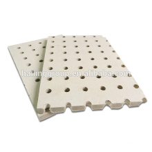 Sound Absorbing Perforated Fiber Cement Board 9mm