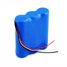 18650 3S1P 11.1V 2400mAh Li Ion Battery Pack