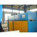 Máquina plegadora hidráulica Wc67y-80X3200 y máquina dobladora de placas de acero