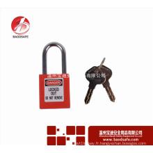 Wenzhou BAODSAFE Verrouillage de cadenas de sécurité en acier Xenoy BDS-S8601D Rouge