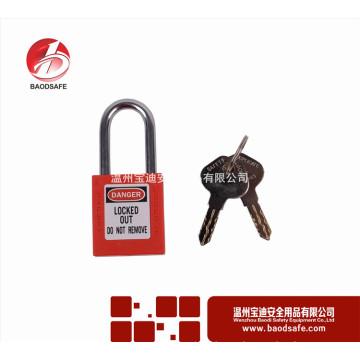 Wenzhou BAODI Steel Xenoy Safety Padlock Lock BDS-S8601D Красный