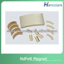 сегмент редкоземельные магниты ndfeb для двигателя постоянного тока