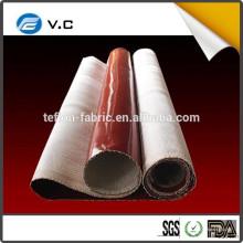 Le prix le plus bas pour le tissu en fibre de verre revêtu de caoutchouc de silicone pour le collecteur de poussière