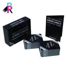 Игральные карты и жесткие коробки изготовленного на заказ печатания производитель Китай