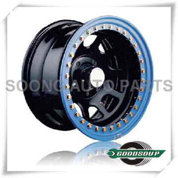 """Rodas Daytona-Beadlock GS-20103 Roda de aço de 15 """"a 17"""" com diferente PCD, Offset e orifício de ventilação"""