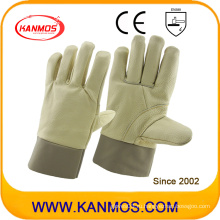 Промышленные перчатки для обеспечения безопасности на производстве из натуральной кожи (31013)