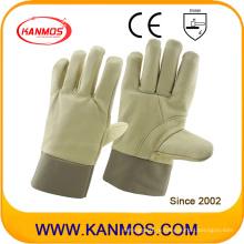 Кожаная кожаная рабочая перчатка для промышленной безопасности (31013)