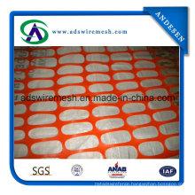 """48""""X50′ Orange Plastic Snow Fence"""
