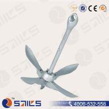 Marine Hardware Hot Dipped Galvanized Type a Folding Anchor