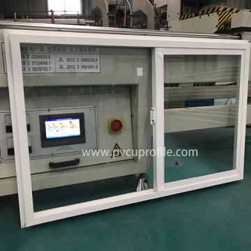 Low E Glas PVC Double Hung Flügelfenster