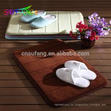 Ropa de cama para hotel / Softtexile baño para hotel antideslizante alfombra de baño usada