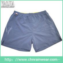 Cheap 100% Polyester Gympants pour hommes / pantalons de survêtement / pantalons de sport