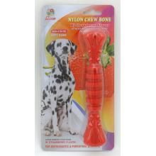 "Percell 7.5 ""Nylon Dog Chew Spiral Bone Strawberry Scent"