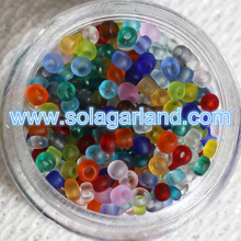 11/0 Size Frosted Yiwu Glass Seed Beads Czech Glas Beads Charms