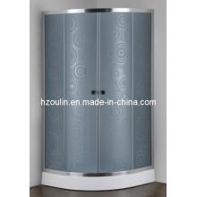Cubículo gris del cuarto de ducha del vidrio (AS-926G)