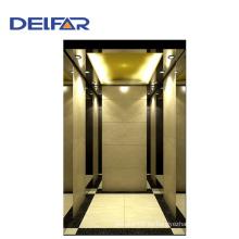 Ti-Oro hermoso elevador de pasajeros de alta calidad con certificados CE