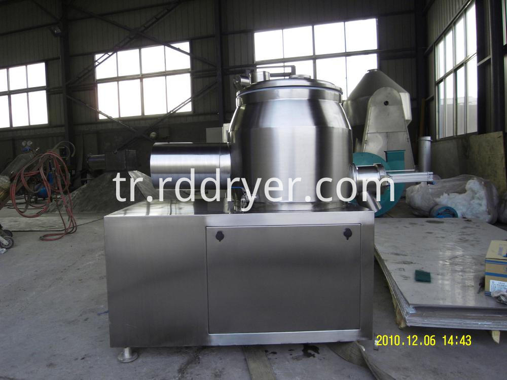 model GHL series high efficient wet mixing granulator
