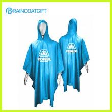 Promotional 100% PVC Hooded Raincoat (RPE-167)