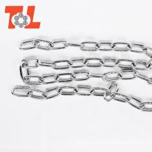 Corrente de aço inoxidável 316 Corrente curta de aço longo