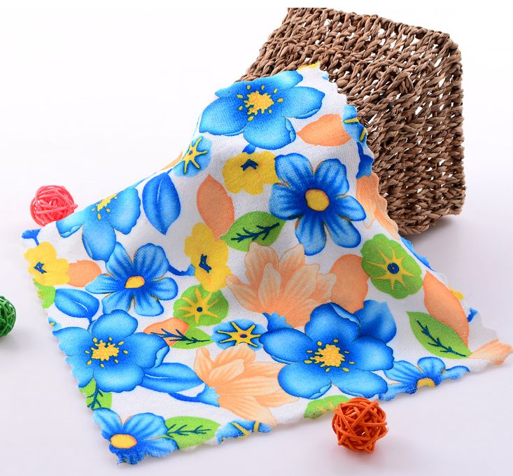 Print Beautiful Floral Towel
