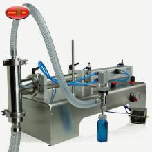 Semi automatic paste water vertical single head filler milk oils ointment honey pneumatic liquid filling