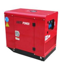 Generador diesel silencioso portátil del motor del cilindro del generador 10kw