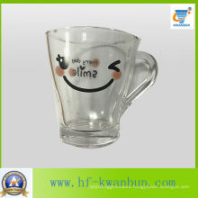 Smile Glass Tumbler Beer Mug Tea Cup Tumbler