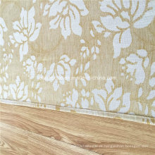Alta qualidade quente vender jacquard linho tocando janela cortina