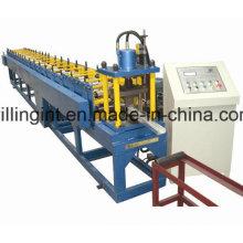 China Maquinaria de estructura de acero ligera galvanizada con pernos y rieles para paneles de yeso completamente automáticos