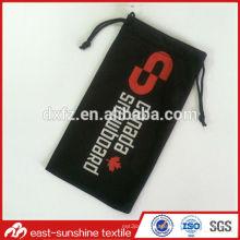 custom microfiber black microfiber bag,custom black microfiber bag,logo black microfiber bag