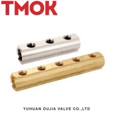 brass color used in manufacture manifold
