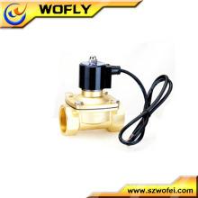 2 polegadas 1 polegada solenóide elétrico água válvula solenóide de água