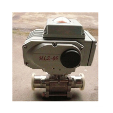 Electric Clamp End 3PC Ball Valve with Food Industry