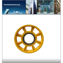 Mitsubishi elevator traction wheel 610x5x14, elevator door wheel