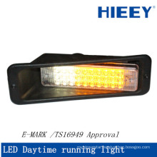 E-MARK and waterproof led daytime running light for trailers