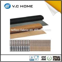 Silk Printing Machine Use Alkali Resistant PTFE Teflon Coated Fiberglass Mesh Conveyor Belt