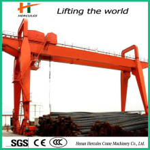 Heavy Duty Double Beam Gantry Crane for Steel Store Use