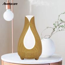 2018 Invenciones Top 100 Amazon Wood Difusor Humidificateur Máquina de Nebulización 150 ml Difusor de Aroma Humidificador de la Lámpara de Sal