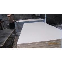 Panneau aggloméré blanc de 16 mm