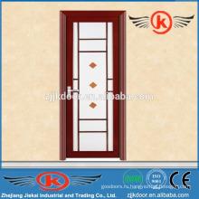 JK-AW9002 внутренняя матовая алюминиевая рама стеклянная дверь