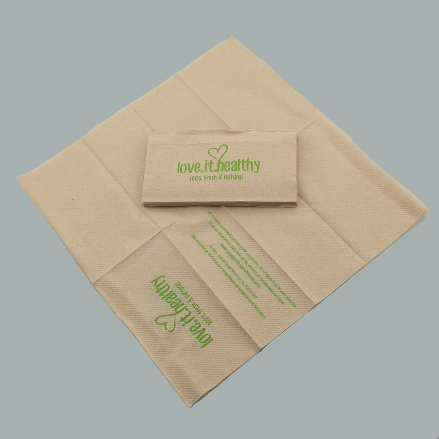 Custom Brown Napkins