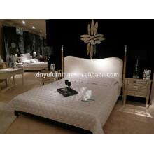 Luxurious modern europen white bed BD8052