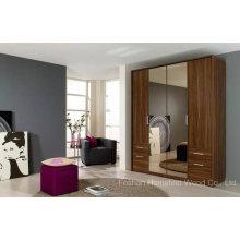 Gabinete de armário de madeira de design clássico com espelho (HF-EY090411)