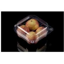 PET plastic transparent 4pack fig boxes